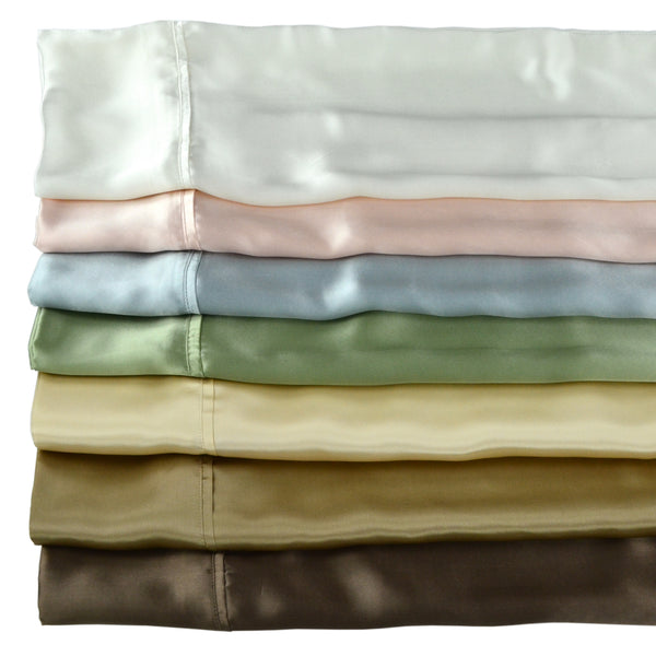 Mulberry Silk Charmeuse Pillowcase Individually Packed