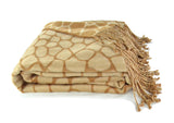 Bamboo Throw - Yarn-Dye Jacquard Woven Reversible Pattern