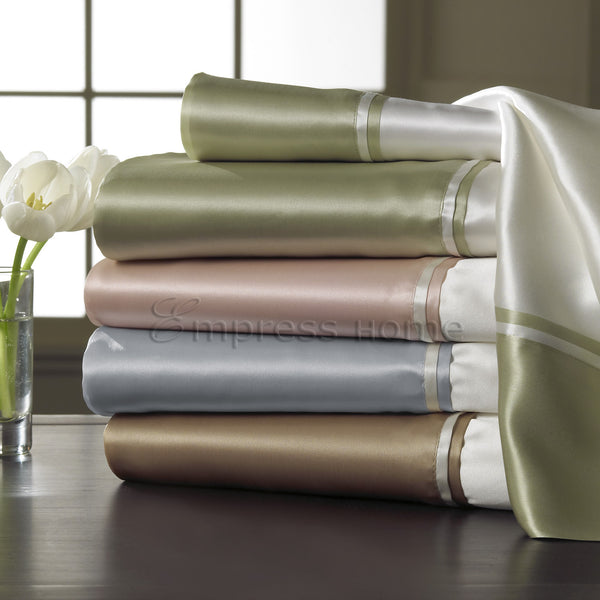 Classic Pure Mulberry Silk Bed Linens