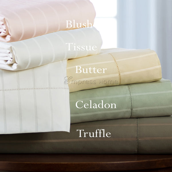 530 Thread Count Cotton and Silk Blended Sheet Set
