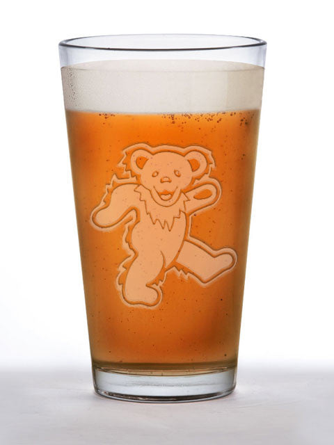 Dancing Bear Pint Glass ~ 16oz