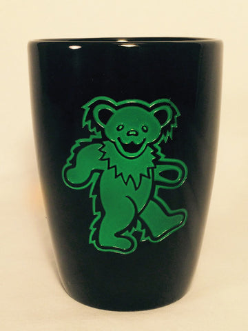 Green Bear - Black Coffee Mug 14oz.