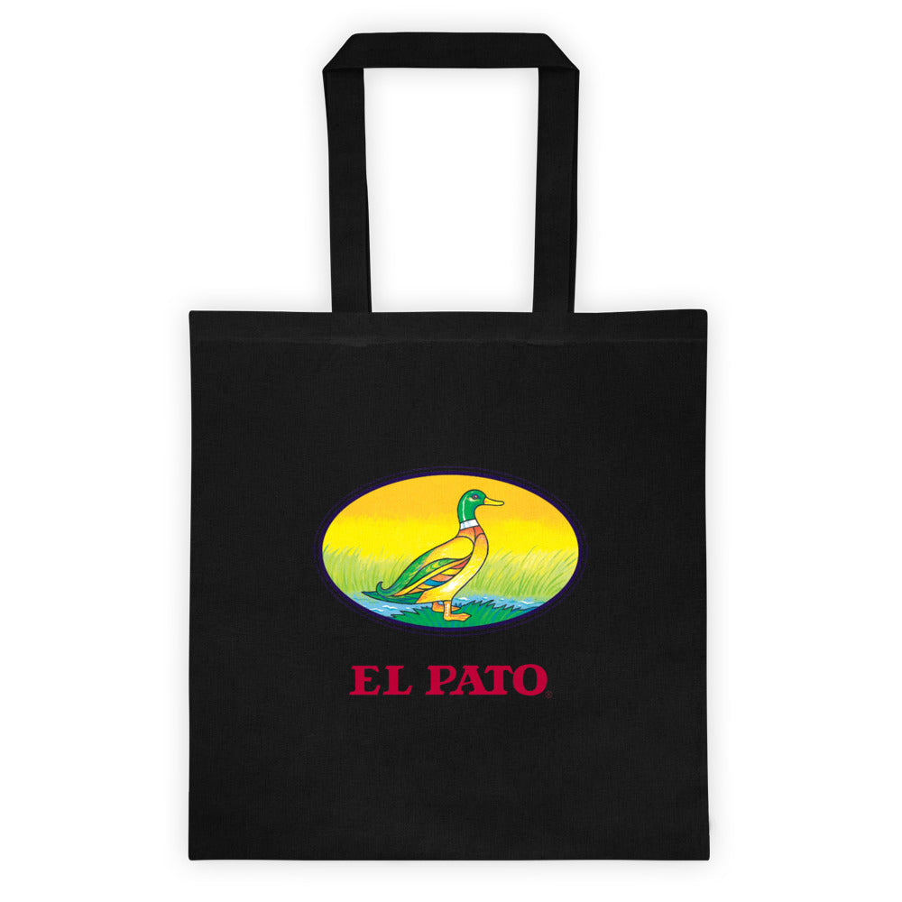 El Pato Canvas Tote Bag