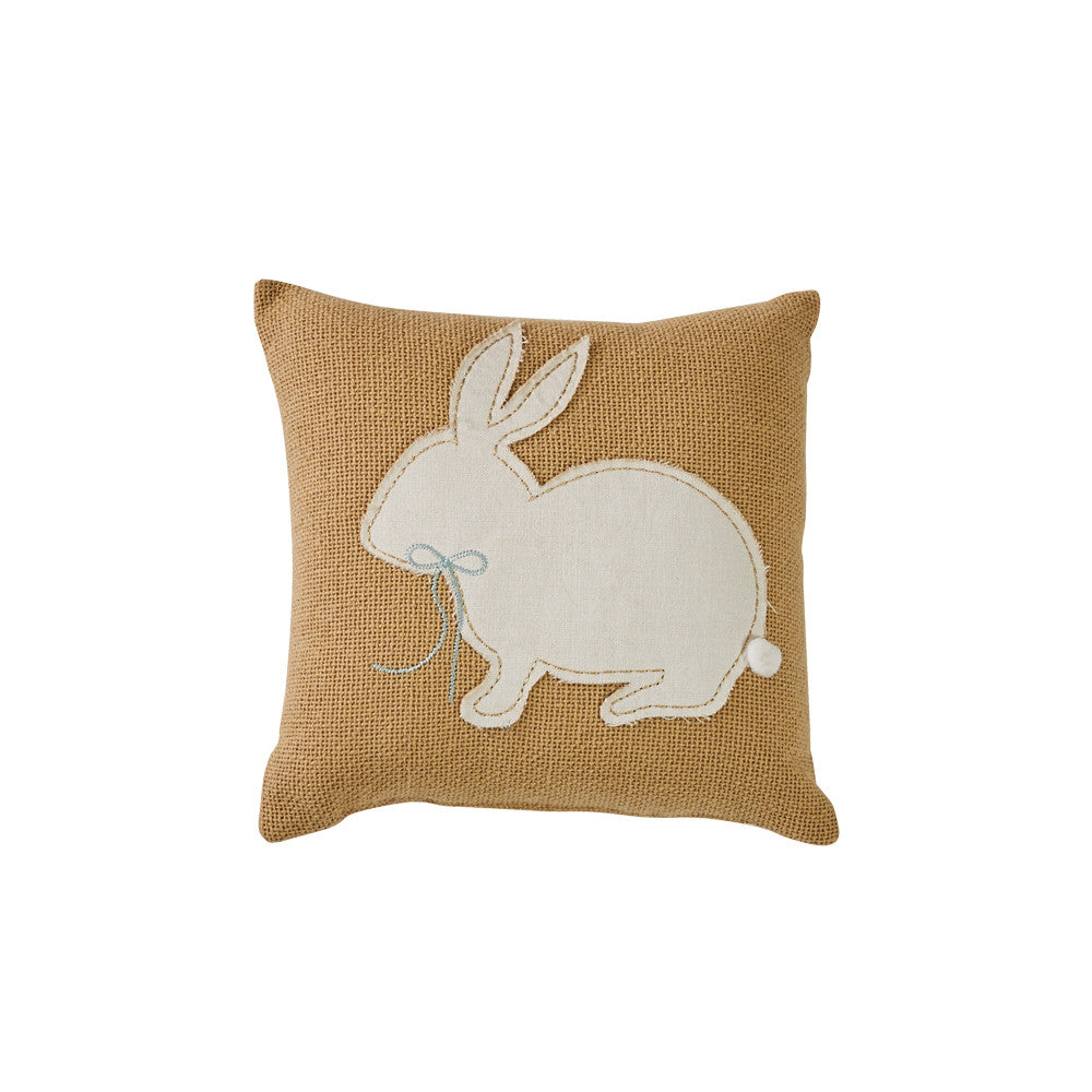 "Park Designs Bunny Applique 10"" Pillow"