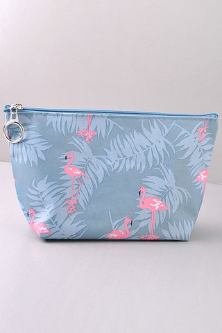 Flamingo Makeup Pouch - Barefoot Lane