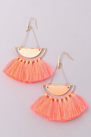 Coral and June Earrings