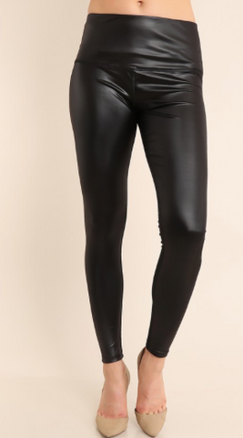 It's a Party! Leather Leggings - Barefoot Lane
