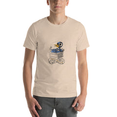 The Bukbird (Charles Bukowski tribute by Tony Millionaire) Short-Sleeve Unisex T-Shirt