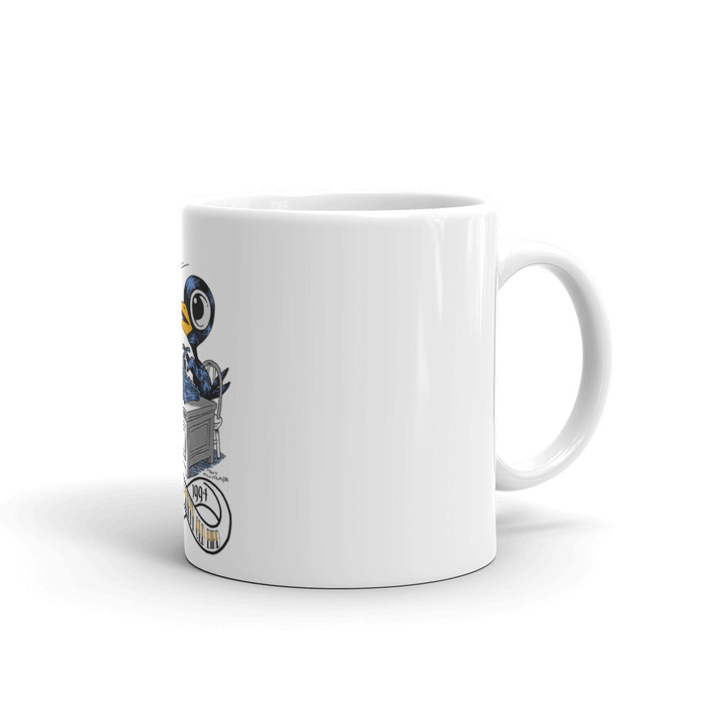The Bukbird (Charles Bukowski tribute by Tony Millionaire) Mug