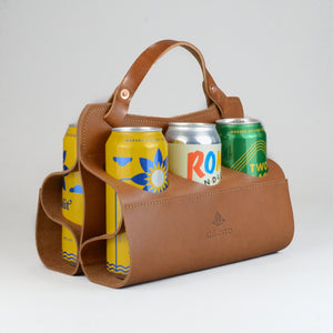 Big Sixer Beer Caddy (Tan)