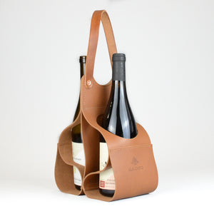 Wine Caddy (Tan)