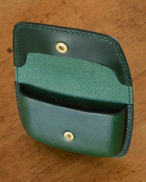 Formed Coin and Card Wallet (made to order)