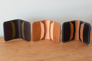 Chevron Bifold Wallets (Samples)