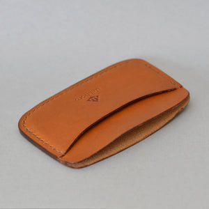 Minimalist 3 Pocket Wallet (Whiskey)