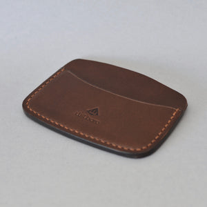 Minimalist 3 Pocket Wallet (Dark Brown)