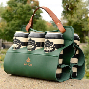 Big Sixer Beer Caddy Limited Edition (Racing Green)