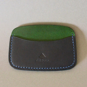 Minimalist 3 Pocket Wallet (Dark Green & Navy)