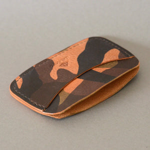 Minimalist 3 Pocket Wallet (Camo)
