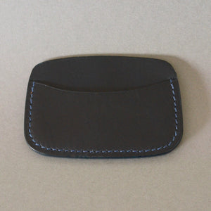 Minimalist 3 Pocket Wallet (Dark Blue)