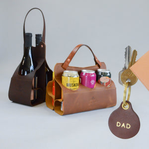 Wine Caddy (Chocolate Brown)