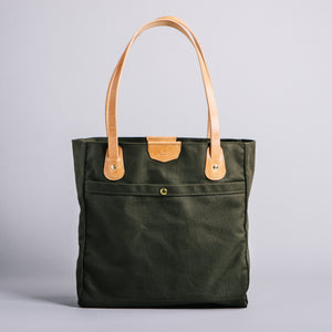 Wellington Tote (Olive Green)