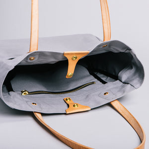 Wellington Tote (Light Grey)