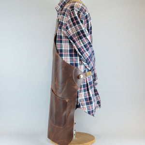 Leather Shop Apron (Fall Harvest Brown)