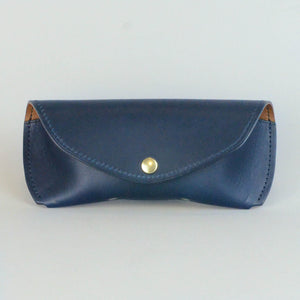 The Sovereign Eyewear Case (Navy & Whiskey)