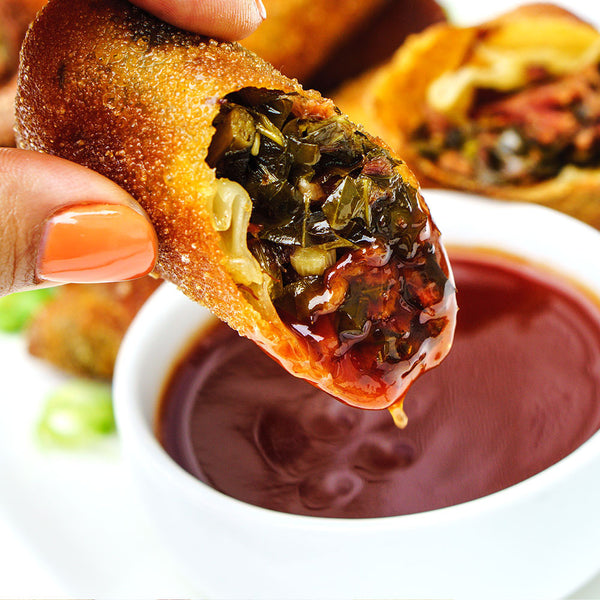 Smoked Turkey And Collard Green Eggrolls Capital City