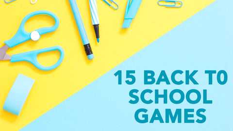 15 Back to School Games