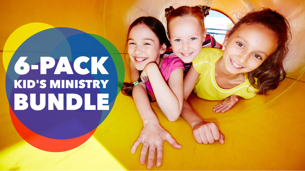 6-Pack Kid's Ministry Bundle