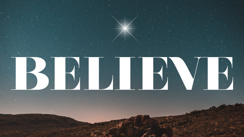 BELIEVE: New 4-Week Christmas Youth Series