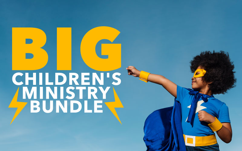 THE BIG CHILDREN'S MINISTRY BUNDLE