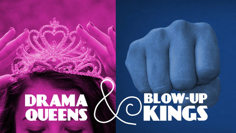 Drama Queens and Blow-Up Kings: NEW & IMPROVED Junior High Series