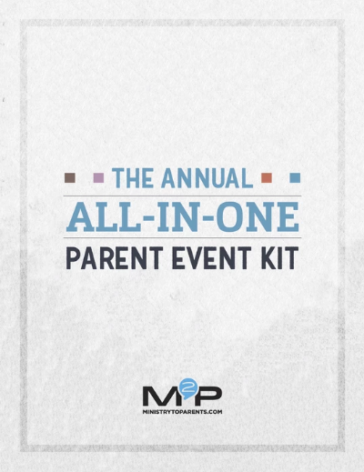 FAMILY MINISTRY EVENT KIT