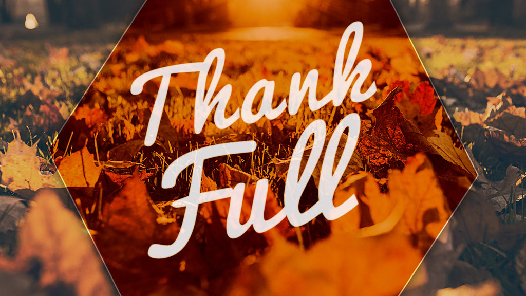 Thank Full: 4 Week Jr High Thanksgiving Video Series