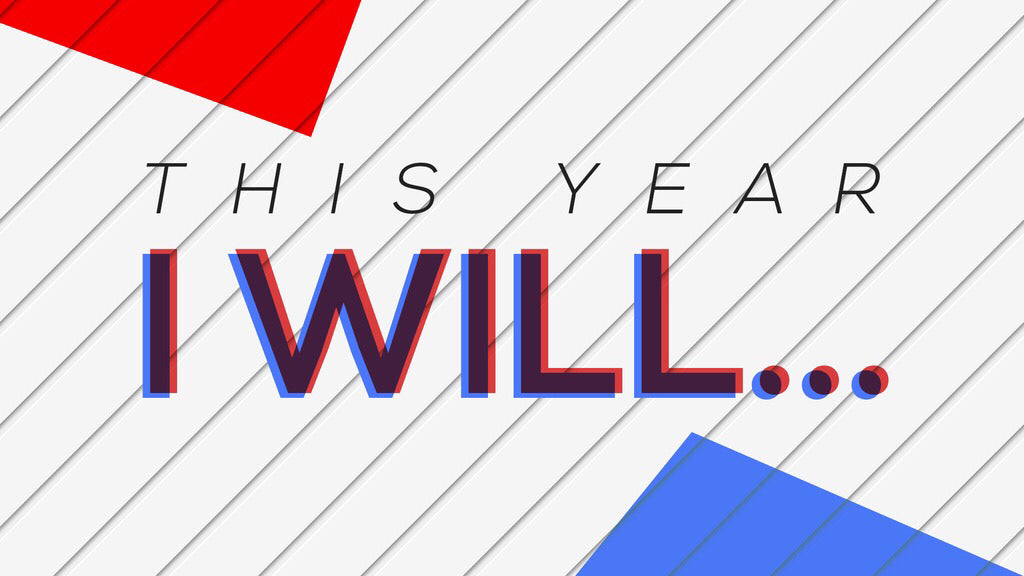 This Year I Will: 4-Week New Year's Series