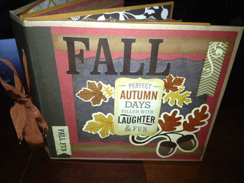 Autumn Days Mini Album Kit and Tutorial