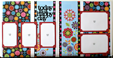 #134 Today Is A Happy Day Layout Kit