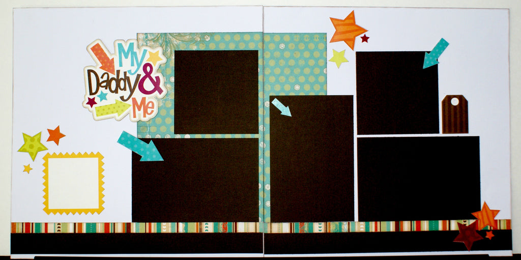 #32 My Daddy & Me (Boy) Layout Kit