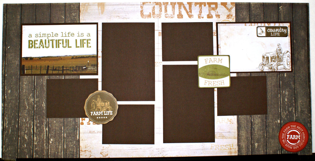 #44 A Simple Life Layout Kit
