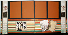 #64 Today Is A Happy Day Layout Kit