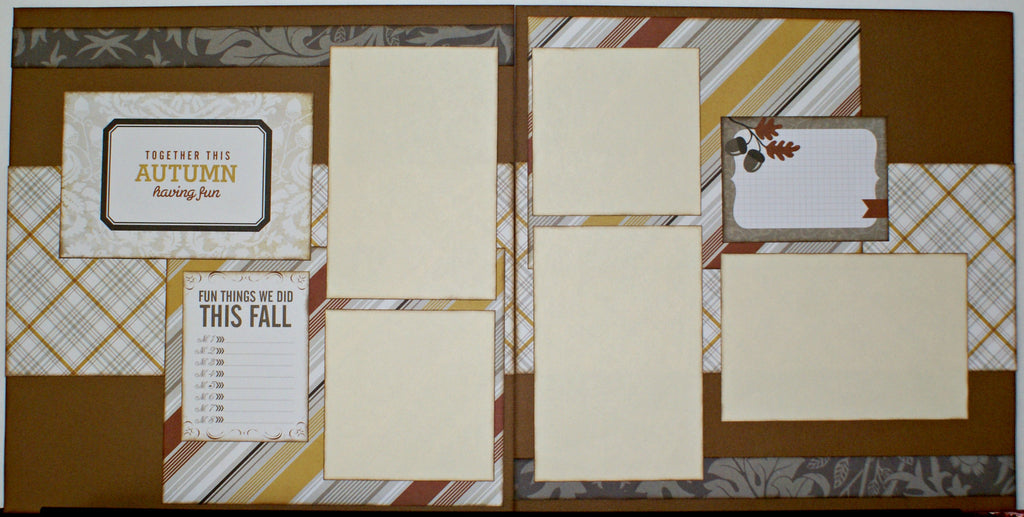#60 Autumn Fun Layout Kit