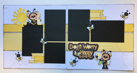 #13 Don't Worry Bee Happy Layout Kit