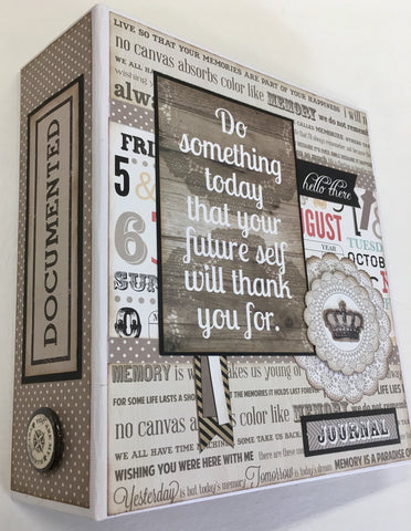 Do Something Today Mini Album Kit