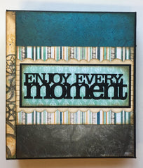 Enjoy Every Moment Mini Album Kit and Digital Tutorial