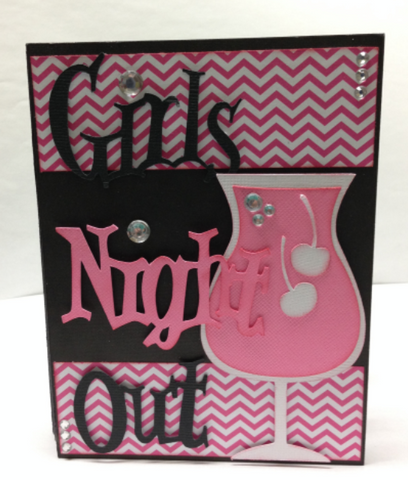 Girls Night Out Mini Album Kit