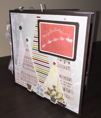 Merry Little Christmas Mini Album Kit