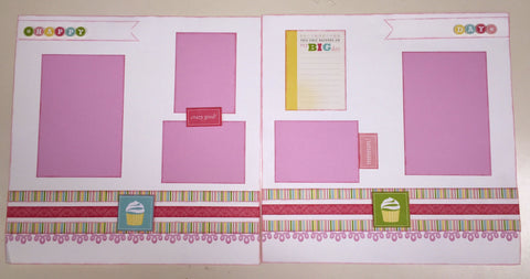 My Big Day -Girl- Layout Kit