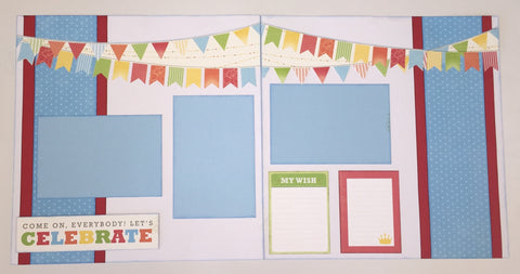 Celebrate Boy Layout Kit